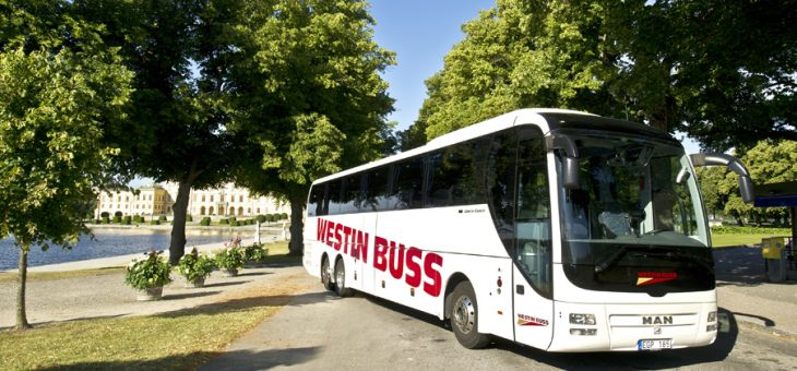 Hyr buss för företagskonferensen