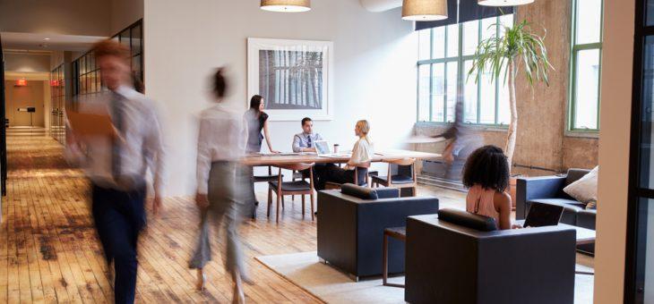 Kontorsrenoveringar skapar onödigt sopberg