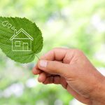 Energieffektivt boende konceptbild